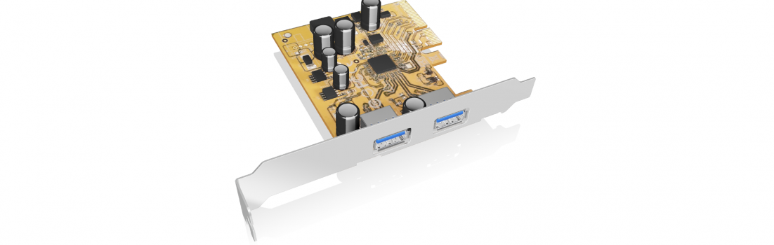 ICY BOX USB 3.1 PCI-E Karte